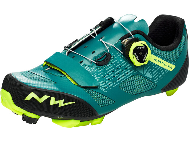 Northwave Razer Chaussures Homme, green/yellow fluo